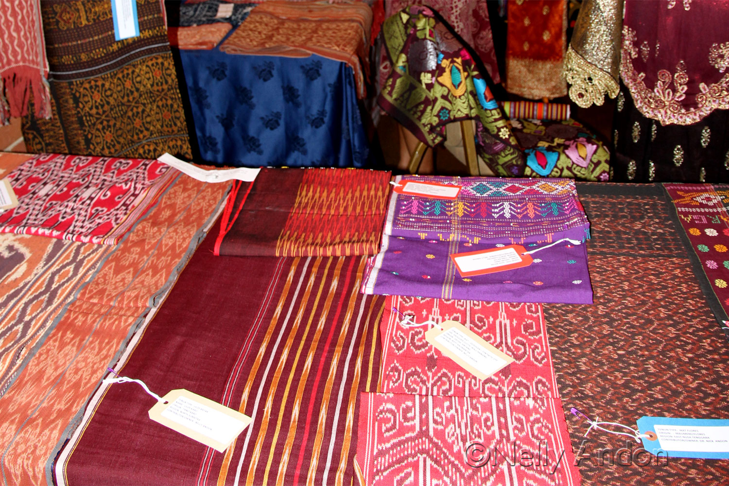 Our Small Ikat Textile Exhibition in Chelsea, London, Supported by BNI 46 team, London