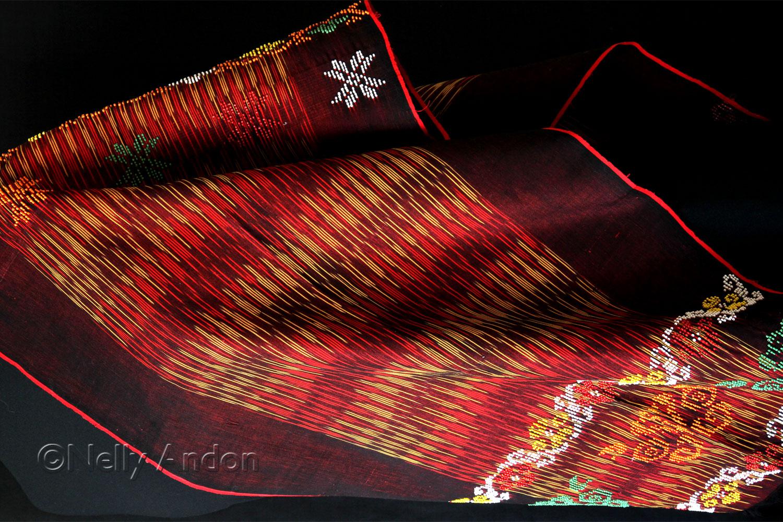 Ulos Ragi Huting, a surprise gift from Torang Sitorus