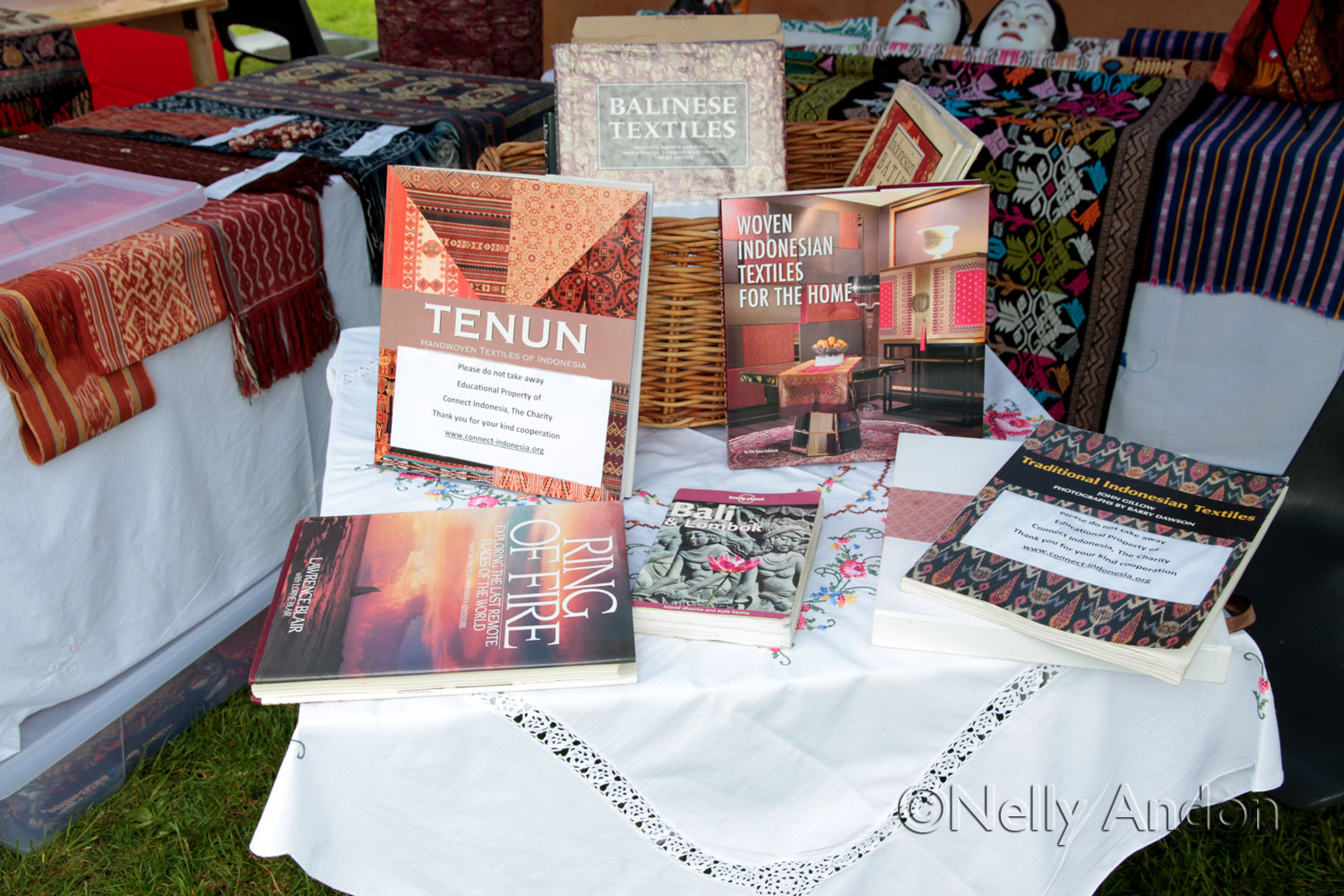 Love is not without sacrifices – our display at the wet and rainy Nottingham Festival, England, June 2014