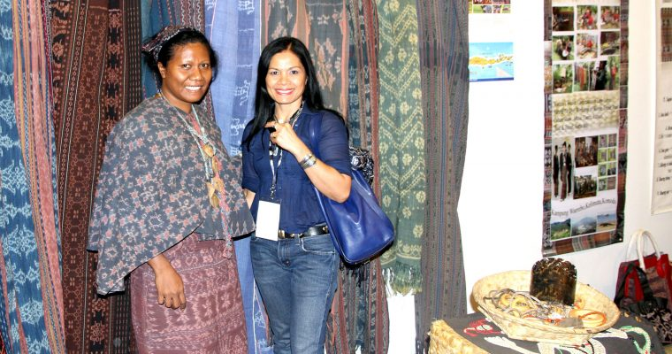 Meeting Alfonsa Horeng, a devoted weaver from Flores