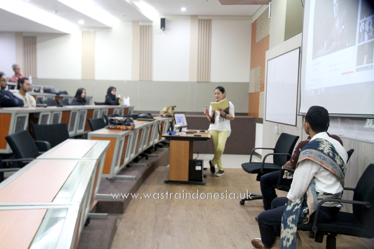 Sharing Indonesian Textile Stories with Institut Teknologi Bandung's MBA Students
