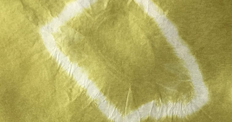 Natural dye experiment that will leave you green with envy