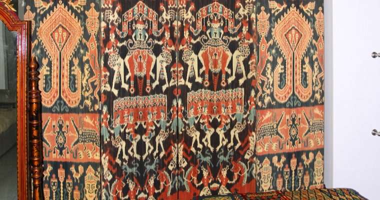 MAGNIFICENT EAST SUMBA TEXTILES FOR OUR HOMES