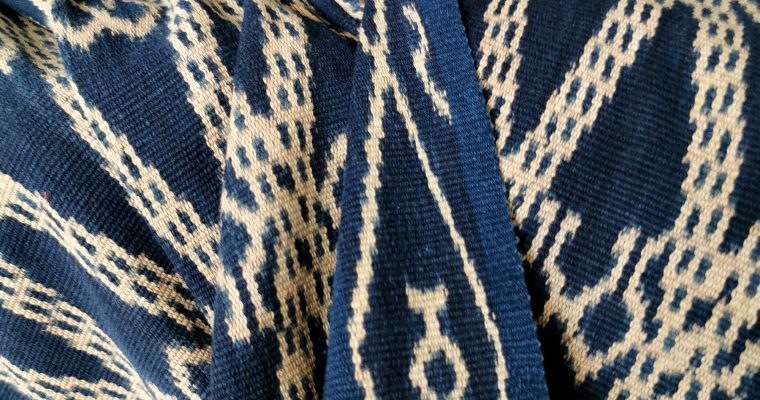 FALLING IN LOVE WITH WEST SUMBA IKAT TRADITIONAL TEXTILES